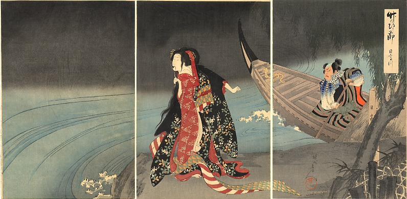 Chikanobu_The_Boatman