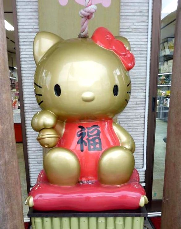 maneki neko, hello kitty