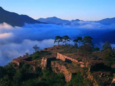 kansai - Hyougo, Asagoshi, Takeda-jou (castello di Takeda)