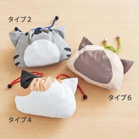 Borsette in stile giapponese (tipicamente abbinabili ad uno yukata)