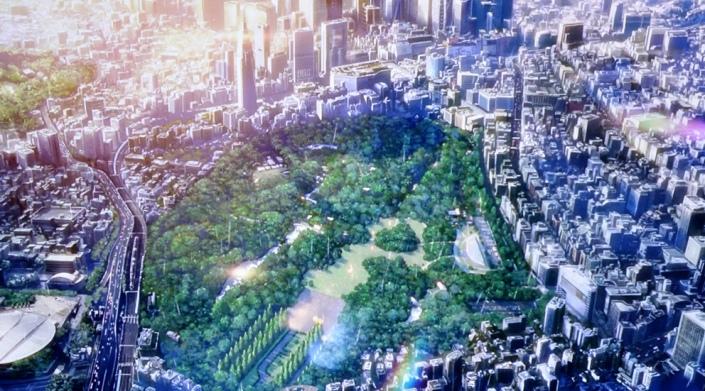giardino delle parole makoto shinkai shinjuku gyoen