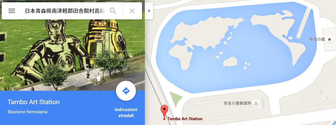 risposta giapponese ai cerchi nel grano pivelli la Tanbo art arte con i campi di riso (1)